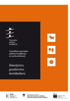 Kmetijstvo, gozdarstvo,  hortikultura (PDF)